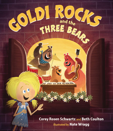 PB Cover - Goldi Rocks and the Three Bears