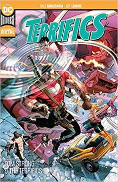 12. The Terrifics Vol. 2 Tom Strong and the Terrifics